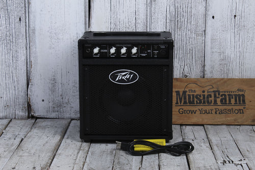 Peavey MAX 158 20 Watt 1x8in  Bass Combo Amp Amplifier Solid State