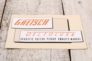 Gretsch Deltoluxe Chrome Acoustic Guitar Soundhole Pickup with 1 Year Warranty