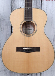 Fender® Paramount PM-TE Travel Standard Acoustic Electric Guitar with Case DEMO