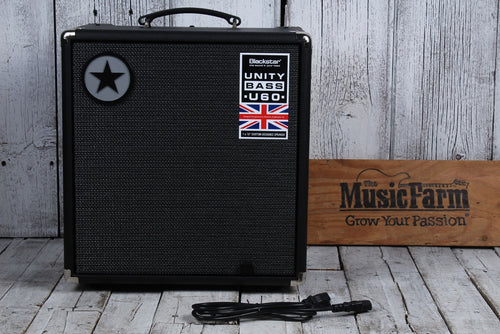 Blackstar Unity Pro Bass U60 Electric Bass Guitar Amplifier 60 Watt 1 x 10 Amp