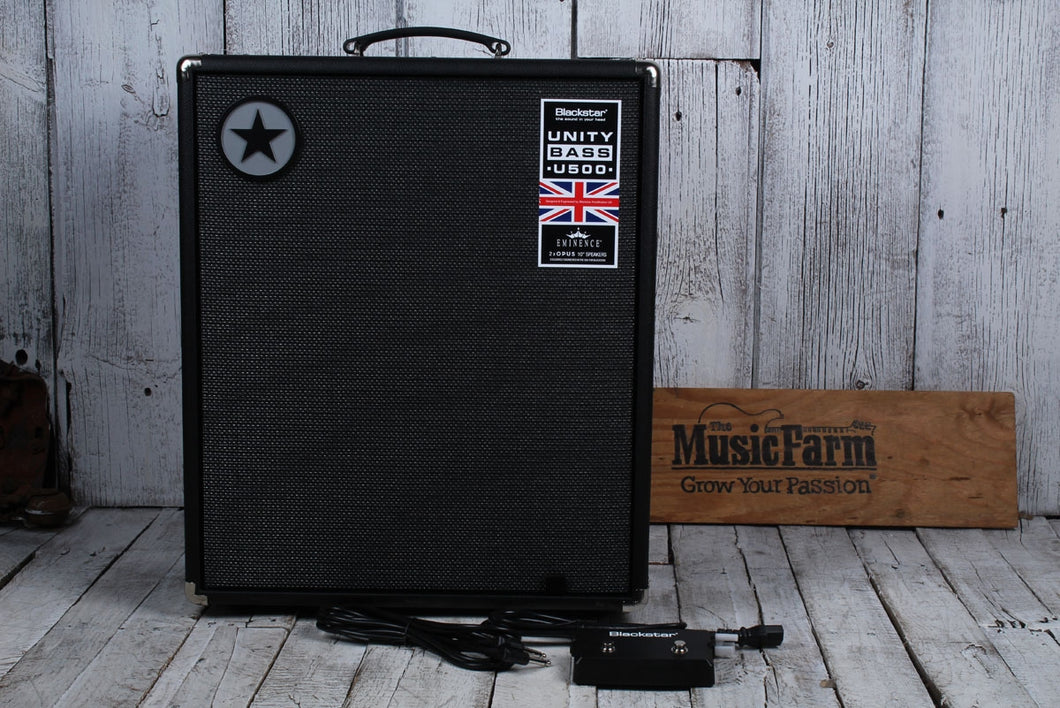 Blackstar Unity Pro Bass U500 Electric Bass Guitar Amplifier 500W Amp with FTSW