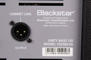Blackstar Unity Pro Bass U120 Electric Bass Guitar Amplifier 120W 1 x 12 Amp
