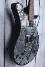 Load image into Gallery viewer, Wild Customs WildOne Iron Top Owl Electric Guitar Made in France w Case and COA