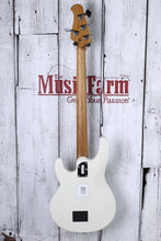 Load image into Gallery viewer, Ernie Ball Music Man StingRay Special 4H Electric Bass Guitar Ivory White w Case
