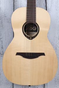Lag Tramontane T270PE Parlor Body Acoustic Electric Guitar Solid Spruce Top NAMM
