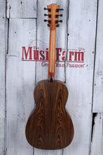 Load image into Gallery viewer, Lag Tramontane T270PE Parlor Body Acoustic Electric Guitar Solid Spruce Top NAMM