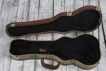 Load image into Gallery viewer, Stagg Concert Ukulele Hardshell Case Vintage Tweed with Gold Hardware GCX-UKC-GD