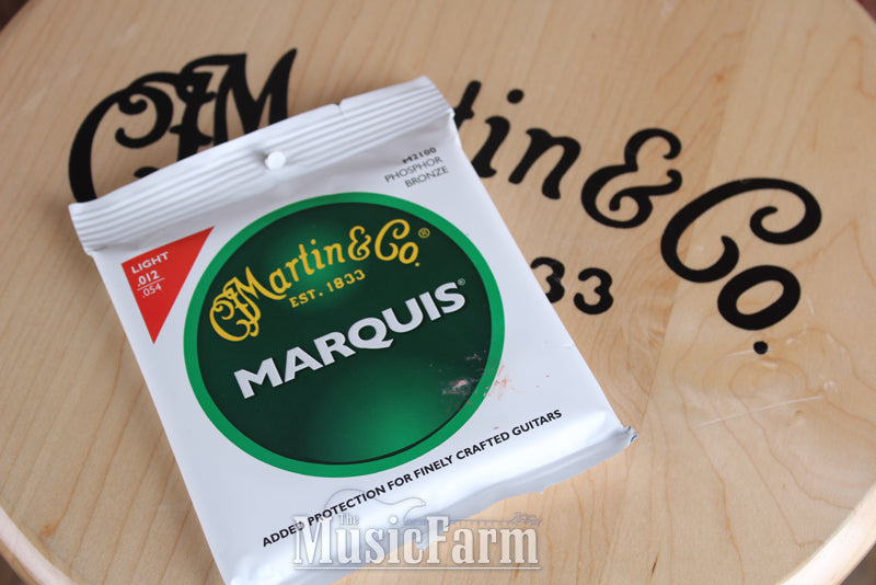 Martin M2100 Marquis Phosphor Bronze Light Acoustic Guitar Strings 12 to 54
