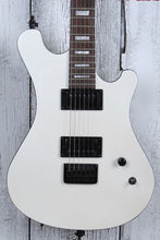 Load image into Gallery viewer, Sozo Z Series ZWBKV2 Double Cut Electric Guitar Pearl White with Hardshell Case