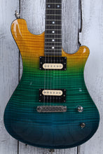 Load image into Gallery viewer, Sozo American Custom Aqua Fade Electric Guitar Flame Maple with Hardshell Case