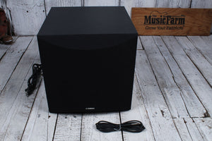 Yamaha 50 Watt Digital Keyboard Compact Subwoofer 1 x 8 Cone Woofer KS-SW100