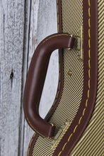 Load image into Gallery viewer, Stagg 27GOLD TWEED TENOR UKULE.CASE