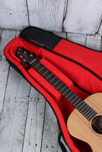 Load image into Gallery viewer, Gator Transit Series GT-ACOUSTIC-BLK Acoustic Guitar Gig Bag Charcoal Exterior