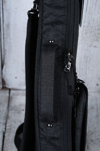 Gator Transit Series GT-ELECTRIC-BLK Electric Guitar Gig Bag Charcoal Exterior