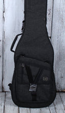 Load image into Gallery viewer, Gator Transit Series Bass Guitar Gig Bag Charcoal Black Exterior GT-BASS-BLK