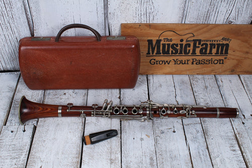 Used Conn vintage 1914 Wooden Clarinet w/Case