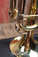 Load image into Gallery viewer, FE OLDS Student Brass Trumpet Medium Weight Model NTR110PC with Hardshell Case