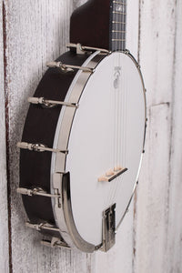 Deering Artisan Goodtime Openback 5 String Banjo with 3 Ply Maple Rim