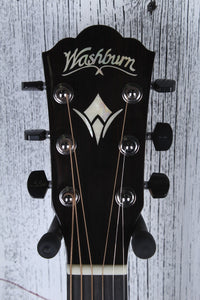 Washburn WCG700SWEK Comfort Series All Solid Acoustic Electric Guitar with Case