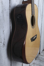 Load image into Gallery viewer, Washburn WCG700SWEK Comfort Series All Solid Acoustic Electric Guitar with Case