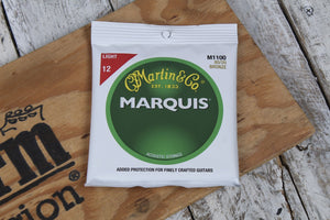Martin Marquis Bronze Acoustic Guitar Strings Light M1100 12 to 54