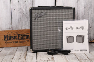 Fender® Rumble 25 Electric Bass Guitar Amplifier 25 Watt 1 x 8 Solid State Amp