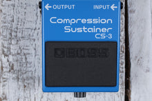Load image into Gallery viewer, Boss CS-3 Compression Sustain Electric Guitar Effects Pedal with FREE Cables