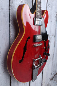 Gibson Vintage 1967 ES-335 TD Electric Guitar Cherry w Bigsby and Hardshell Case