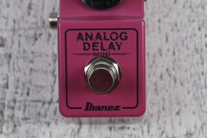 Ibanez Mini Series ADMINI Delay Electric Guitar Effects Pedal Made in Japan