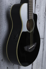 Load image into Gallery viewer, Yamaha 3/4 Travel Size Acoustic Electric Guitar Black APXT2 BL with Gig Bag