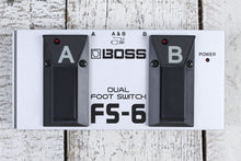 Load image into Gallery viewer, Boss FS-6 Dual Foot Switch Electric Guitar Effects Foot Controller Selector Peda