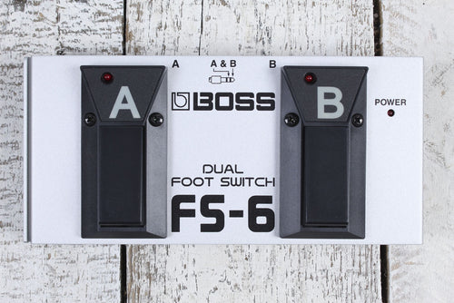 Boss FS-6 Dual Foot Switch Electric Guitar Effects Foot Controller Selector Peda