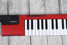 Load image into Gallery viewer, Yamaha Sonogenic 37 Note Keytar SHS-500 Red with Power Supply Strap & MIDI Cable