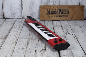 Yamaha Sonogenic 37 Note Keytar SHS-500 Red with Power Supply Strap & MIDI Cable