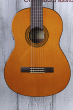 Load image into Gallery viewer, Yamaha Nylon String Classical Acoustic Electric Guitar Spruce Top Natural CGX102
