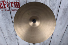 "Load image into Gallery viewer, Used Zildjian 16"" Vintage Crash Cymbal"