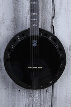 Load image into Gallery viewer, Deering Goodtime Blackgrass 5 String Resonator Banjo Black Satin Made in the USA