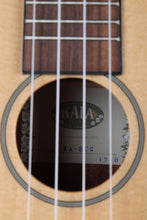 Load image into Gallery viewer, Kala Solid Spruce Mahogany Concert Ukulele Walnut Fretboard Natural Gloss KA-SCG