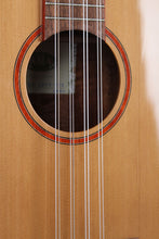 Load image into Gallery viewer, Kala Solid Cedar Acacia 8 String Baritone Ukulele Natural Gloss Uke KA-ABP8-CTG