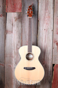 Breedlove Pursuit Exotic Concert E Sitka Koa Acoustic Electric Guitar w Gig Bag