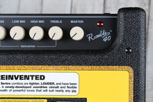 Load image into Gallery viewer, Fender® Rumble 40 Bass Electric Guitar Amplifier 40 Watt 1 x 10 Solid State Amp
