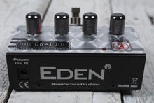 Load image into Gallery viewer, Eden I90 Professional Chorus Electric Bass Guitar Effects Pedal w Power Supply