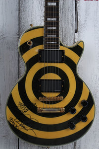 Epiphone 2005 SIGNED Zakk Wylde Les Paul Custom Bullseye Electric Guitar w Case