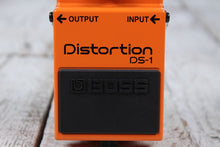 Load image into Gallery viewer, Boss DS-1 Distortion Electric Guitar and Keyboard Effects Pedal with FREE Cables