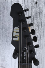 Load image into Gallery viewer, ESP LTD AA-600 Alan Ashby Signature Electric Guitar Black Satin with Hard Case