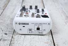 Load image into Gallery viewer, Yamaha AG03 3 Channel Mixer with USB Audio Interface Streaming and Webcasting