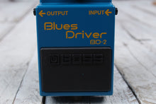 Load image into Gallery viewer, Boss BD-2 Blues Driver Overdrive Electric Guitar Effects Pedal with FREE Cables