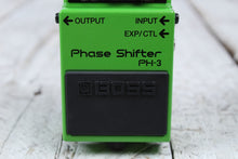 Load image into Gallery viewer, Boss PH-3 Phase Shifter Electric Guitar Effects Pedal with Three FREE Cables