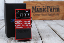 Load image into Gallery viewer, Boss RC-3 Loop Station Electric Guitar Effects Looper Pedal w Three FREE Cables