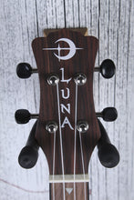 Load image into Gallery viewer, Luna Vintage Mahogany Concert Ukulele All Mahogany Uke Red Satin UKE VMC RDS
